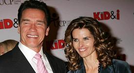 Arnold Schwarzenegger se svou manželkou Mariou Shriver.