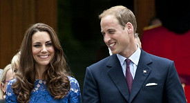 Princ William a Kate Middleton.