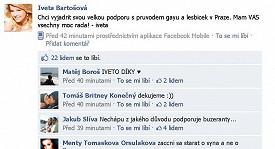 Někteří fanoušci Ivety Bartošové se bouří proti výzvě pro gaye.