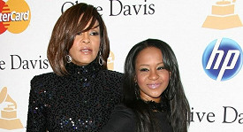 Whitney Houston a Bobbi Kristina.