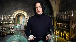 Severus Snape je nejoblíbenější postavou z Harryho Pottera.