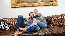 Vlasta Hájek a Zuzana Belohorcová ve svém novém obývacím pokoji