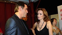 Miroslav Etzler s Kateřinou Brožovou