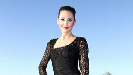 Hana Svobodová oblékla šaty po Madonně.