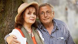 Libuše Šafránková s Jiřím Menzelem.