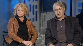 Iveta Bartošová s přítelem Josefem Rychtářem.