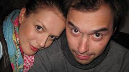 Tuhle fotku si Andrea s Filipem udělali na památku.