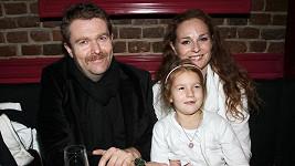 Markéta Hrubešová s rodinou