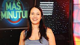 Kristýna Leichtová na natáčení nového pořadu televize Prima Máš minutu!