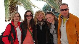 Štefan Margita a Hana Zagorová s neteřemi