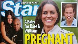 Je Kate skutečně těhotná? V americkém časopise mají jasno.