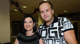 Mirka Čejková s manželem Markem Vítem, když ještě byli spolu.