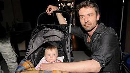 Roman Zach s dcerou Agátkou