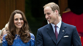 Princ William a Kate Middleton.