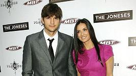 Demi Moore a Ashton Kutcher na loňském snímku.