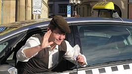 Aleš Háma v pořadu Taxík