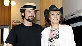 Olga a její syn Waldemar.