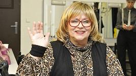 Naďa Urbánková na charitativní akci v Jaroměři