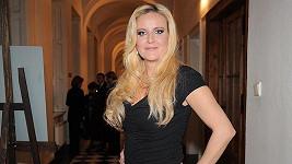 Vendula Svobodová na 10. výročí Kapky naděje.