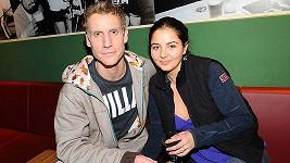 Míra Nosek s přítelkyní Ivanou