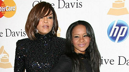 Bobbi Kristina s matkou Whitney Houston.