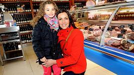 Andrea s dcerou Aničkou
