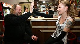 Helena Zeťová a její nevlastní otec Lešek Semelka.