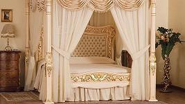 Nejdražší postel na světě s názvem Baldacchino Supreme.