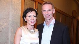 Dominik Hašek s Líbou Šmuclerovou