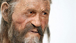 Model ledového muže Ötziho