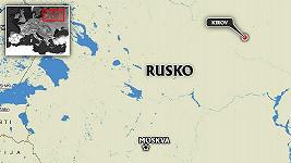 Ruský řidič způsobil v Kirovu hned pět dopravních nehod za 30 minut.