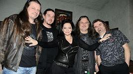 Lucie Bílá s kapelou Arakain.