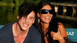 Šťastný páreček Daniel a Julie.