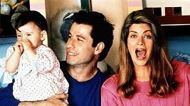 John Travolta a Kirstie Alley v komedii Kdopak to mluví.