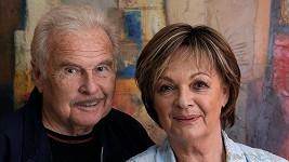 Jana Hlaváčová se svým mužem Luďkem Munzarem, který je jí velkou oporou.