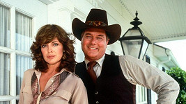 Larry Hagman a Linda Gray