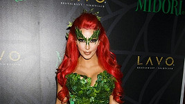 Kim Kardashian ve svém svůdném kostýmu.