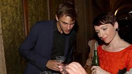 Taťána Vilhelmová s přítlem Vojtou Dykem