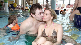 Kateřina Kristelová s manželem