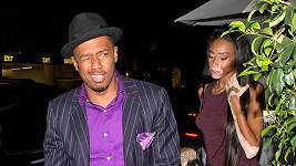 Už několikrát byla spatřena ve společnosti exmanžela Mariah Carey Nicka Cannona.