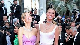 Petra Němcová (vlevo) zapózovala s Toni Garrn.