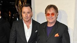 Elton John a David Furnish.