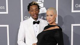 Wiz Khalifa a Amber Rose.