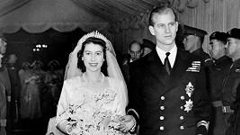 Princ Philip a Alžběta II.