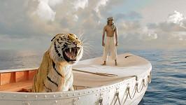 Tygr málem nepřežil natáčení filmu Pí a jeho život.