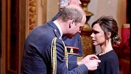 Victoria Beckham dostala řád od prince Williama