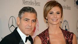 Stacy Keibler s Georgem Clooneym