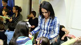 Vendulka Křížová je na spoustu dětí zvyklá z domova.