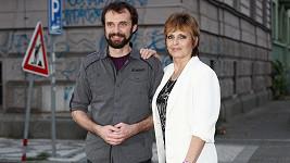 Waldemar Matuška mladší a Olga Matušková