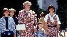 Robin Williams v komedii Táta v sukni